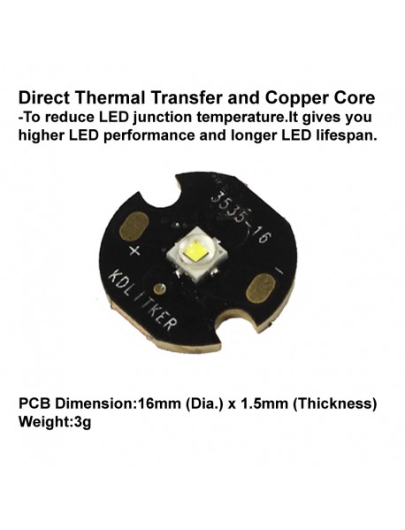Cree XP-E2 Q4 7C4 Warm White 3000K LED Emitter (1 pc)