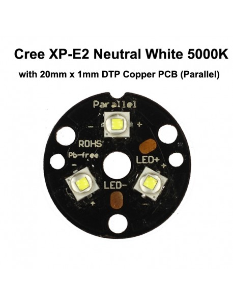 Cree XP-E2 R3 3C Neutral White 5000K LED Emitter (1 pc)
