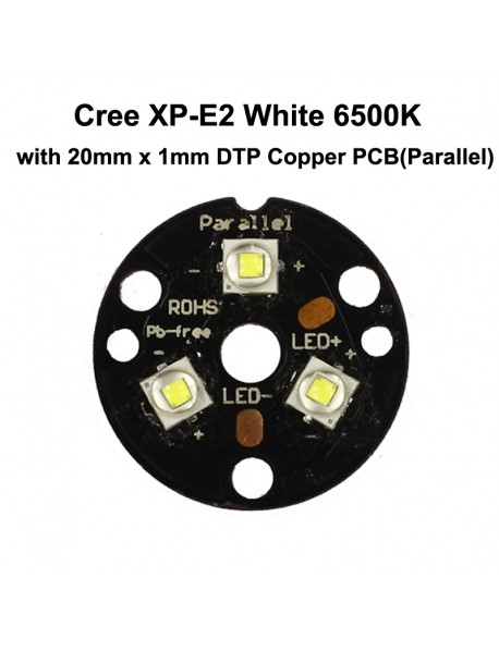 Cree XP-E2 R3 1A White 6500K LED Emitter (1 pc)
