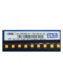 CREE XP-E HEW Q3 7A2 Warm White 3000K High CRI90 LED Emitter (1 pc)