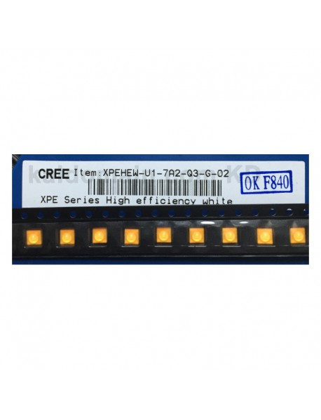 CREE XP-E HEW Q3 7A2 Warm White 3000K High CRI90 LED Emitter (1 pc)