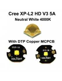 Cree XP-L2 HD V3 5A Neutral White 4000K LED Emitter (1 pc)