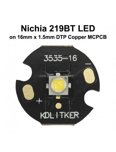 Nichia 219BT Neutral White 4500K High CRI92 3535 LED Emitter (1 PC)
