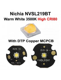 Nichia 219BT Warm White 3500K CRI80 LED Emitter (1 pc)