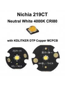 Nichia 219CT Neutral White 4000K CRI80 LED Emitter (1 pc)