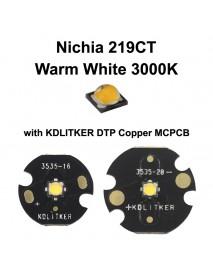 Nichia 219CT Warm White 3000K LED Emitter (1 pc)