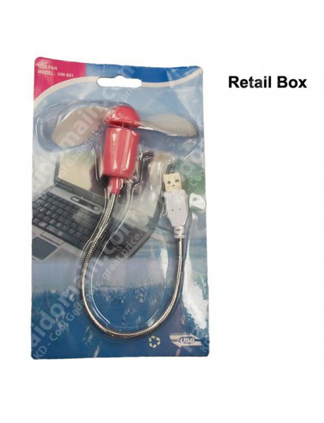 HW-901 Mini USB Powered Cooling Fan (1 pc)