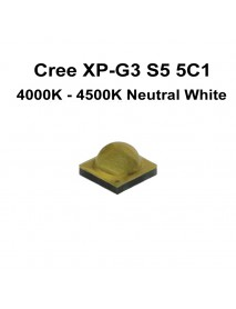 Cree XP-G3 S5 5C1 Neutral White 4000K - 4500K LED Emitter - 1 pc