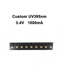 Custom UV 395nm - 400nm Ultraviolet UV LED Emitter (1 pc)