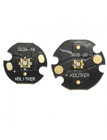 Custom UV 395nm - 400nm Ultraviolet UV LED Emitter (1 pc)