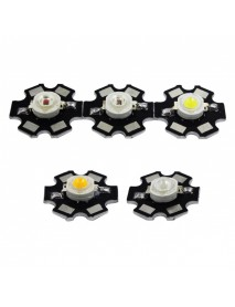 3W White / Neutral White / Warm White / Red / Green / Blue LED (1 pc)