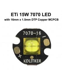 ETi 7070 15W 12V 1200mA 1700 Lumens High Power LED Emitter (1 PC)