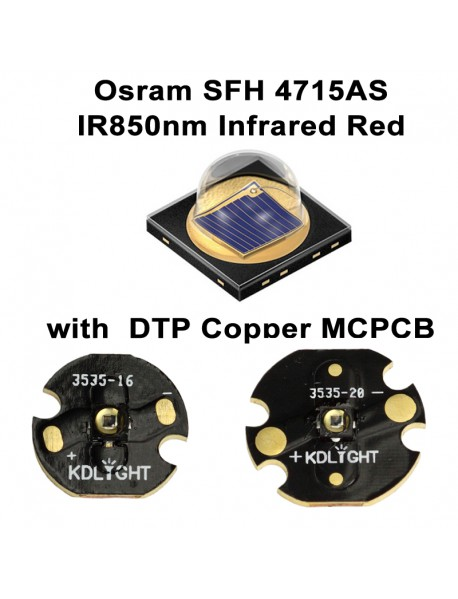 Osram SFH 4715AS IR850nm Infrared Red Emitter ( 1 pc )