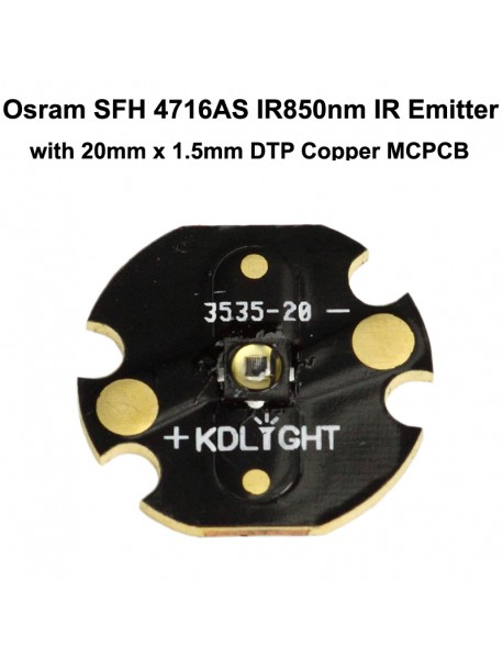 Osram SFH 4716AS IR850nm Infrared Red Emitter ( 1 pc )