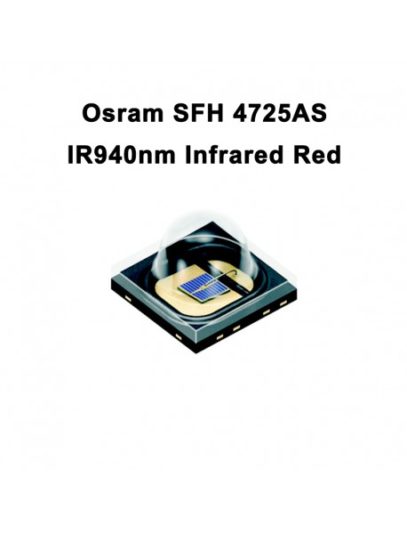 Osram SFH 4725AS IR940nm 5W Infrared Red LED Emitter ( 1pc )