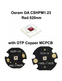 Osram GA CSHPM1.23 Red 620nm LED Emitter (1 PC)