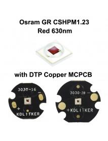 Osram GR CSHPM1.23 Red 630nm LED Emitter (1 PC)