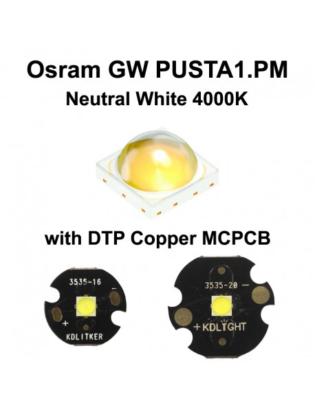Osram GW PUSTA1.PM NE K2 Neutral White 4000K LED Emitter