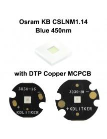 Osram KB CSLNM1.14-3V6A-46 Blue 450nm LED Emitter - 1 pc