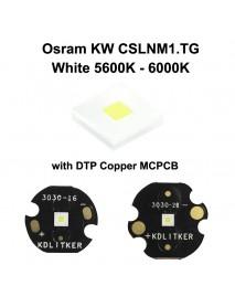 Osram KW CSLNM1.TG 6N-ebzB46-65 White 5600K - 6000K LED Emitter - 1 pc