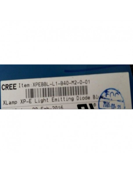 Cree XP-E2 B4 M2 470nm Blue LED Emitter (1 pc)