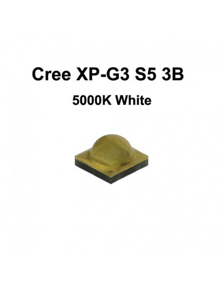 Cree XP-G3 S5 3B White 5000K LED Emitter - 1 pc