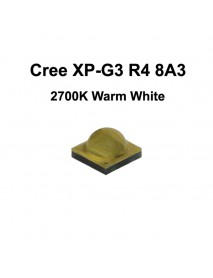 Cree XP-G3 R4 8A3 Warm White 2700K LED Emitter - 1 pc