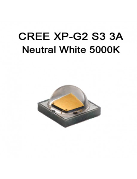 CREE XP-G2 S3 3A Neutral White 5000K LED Emitter ( 1 pc )