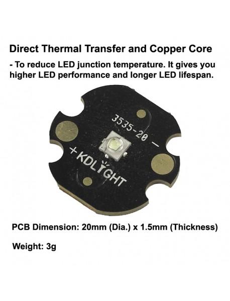 Luminus SST-10-G 130-Degree 530nm Green LED Emitter - 1 pc