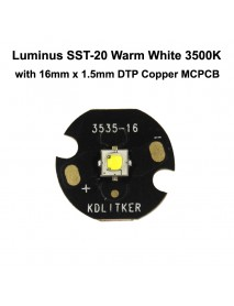 Luminus SST-20 J5 GB4 Warm White 3500K High CRI95 LED Emitter - 1 pc