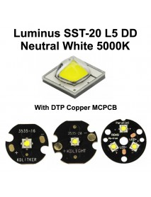 Luminus SST-20 L5 DD Neutral White 5000K LED Emitter (1 pc)
