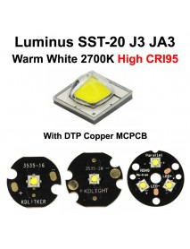 Luminus SST-20 J3 JA3 Warm White 2700K CRI95 LED Emitter (1 pc)