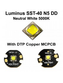 Newest Luminus SST-40 N5 DD Neutral White 5000K LED Emitter - 1 pc