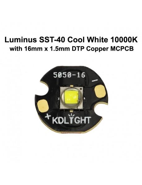 Luminus SST-40 N3 ZF Cool White 10000K LED Emitter (1 pc)