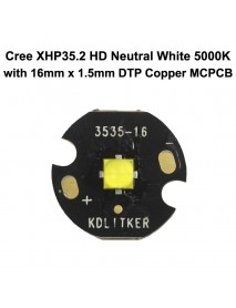 Cree XHP35.2 HD E2 3A Neutral White 5000K LED Emitter (1 PC)