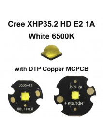 Cree XHP35.2 HD E2 1A White 6500K LED Emitter (1 pc)