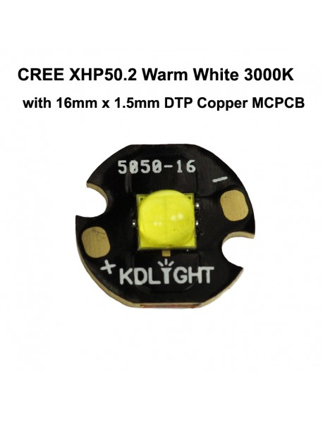 Cree XHP50.2 J2 7A Warm White 3000K LED Emitter (1 pc)