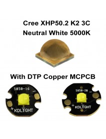 Cree XHP50.2 K2 3C Neutral White 5000K LED Emitter (1 pc)