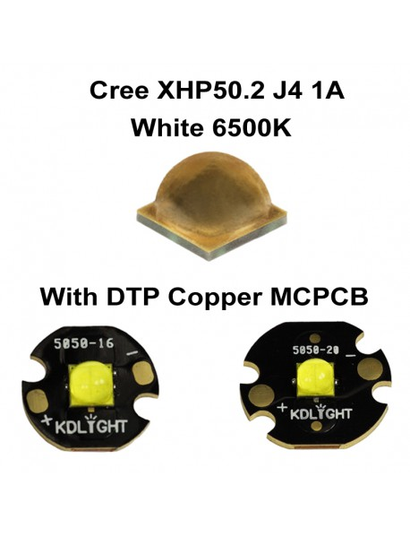 Cree XHP50.2 J4 1A White 6500K LED Emitter (1 pc)