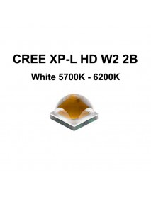 Cree XP-L HD W2 2B White 5700K - 6200K LED Emitter (1 pc)