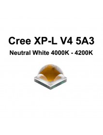Cree XP-L HD V4 5A3 Neutral White 4000K - 4200K LED Emitter (1 pc)