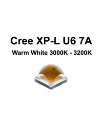 Cree XP-L HD U6 7A Warm White 3000K - 3200K LED Emitter (1 pc)