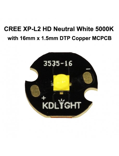 Cree XP-L2 HD V5 3A Neutral White 5000K LED Emitter (1 pc)