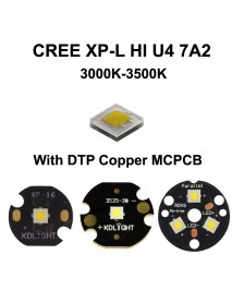 Cree XP-L HI U4 7A2 Warm White 3000K-3500K LED Emitter (1 pc)
