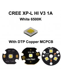 Cree XP-L HI V3 1A White 6500K LED Emitter (1 pc)