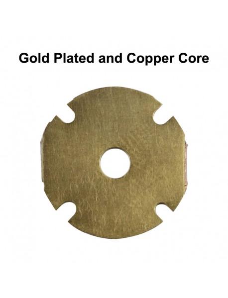 Quad Nichia 219CT LED Emitter with 20mm x 1.5mm DTP Copper PCB (Parallel) w/ optics