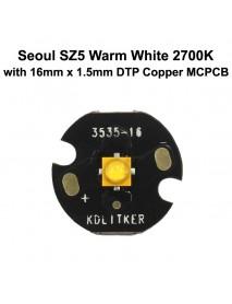 Seoul SZ5 M2 Warm White 2700K CRI80 3535 LED Emitter
