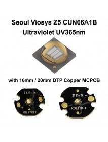 Seoul Viosys UV 365nm Z5 Series CUN66A1B Ultraviolet UV LED Emitter (1 pc)
