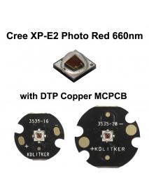 Cree XP-E2 30 P2 Photo Red 660nm LED Emitter (1 pc)