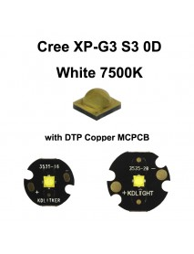 Cree XP-G3 S3 0D White 7500K LED Emitter - 1 pc